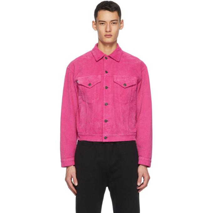 MSGM MSGM Pink Corduroy Jacket