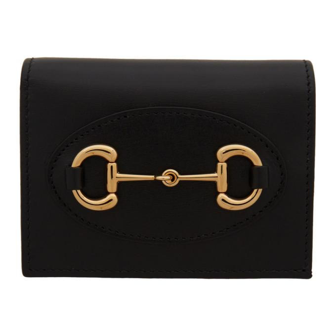 Gucci 黑色 Gucci 1955 马衔扣钱包