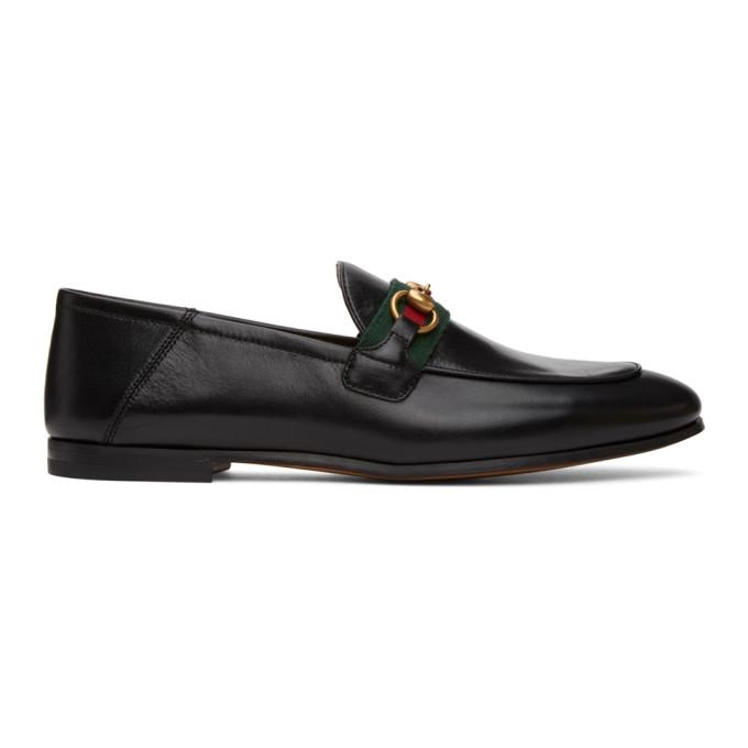 Gucci Brixton Horsebit-detailed Leather