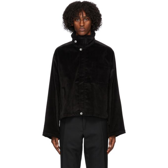 3MAN 3MAN Black Corduroy Jacket