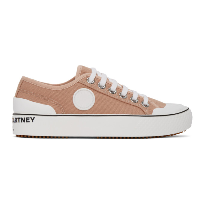 Stella Mccartney Sneakers STELLA MCCARTNEY PINK CANVAS SNEAKERS