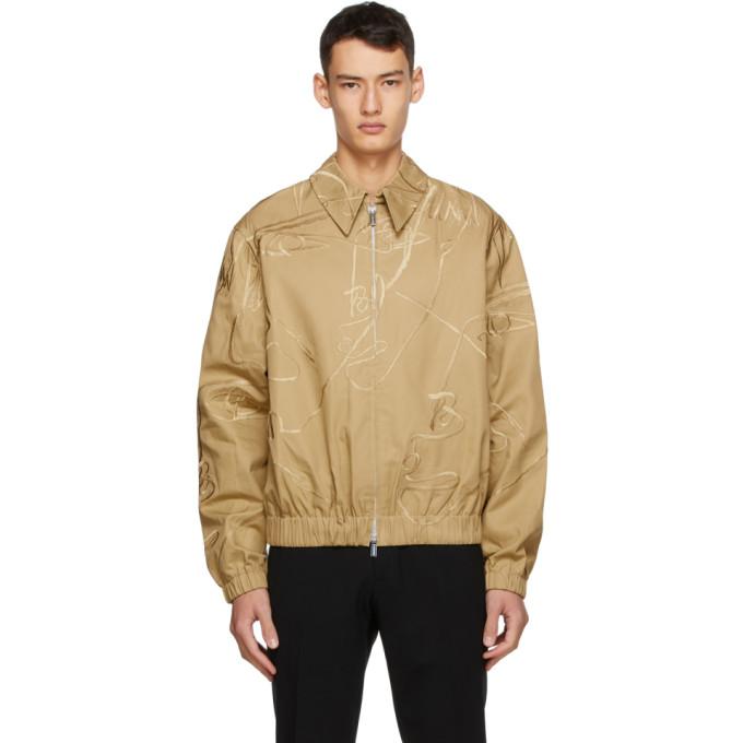 Sean Suen Sean Suen Khaki Embroidered Jacket