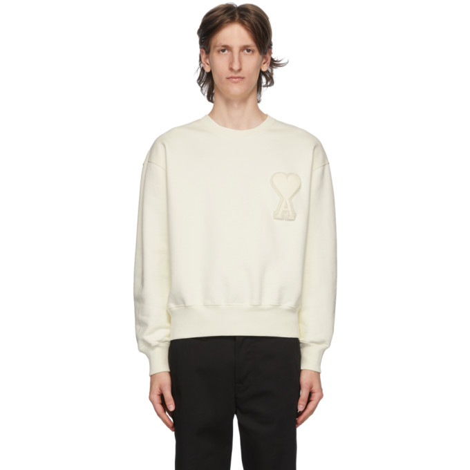 SSENSE Exclusive Off-White Ami De Coeur Sweatshirt