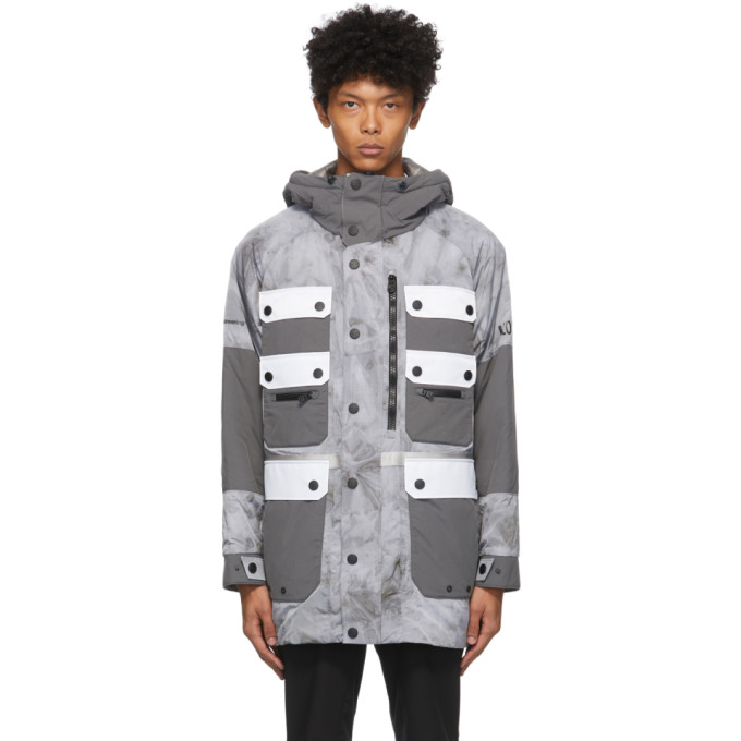 Colmar by White Mountaineering Colmar by White Mountaineering Grey Dyed Pockets Jacket