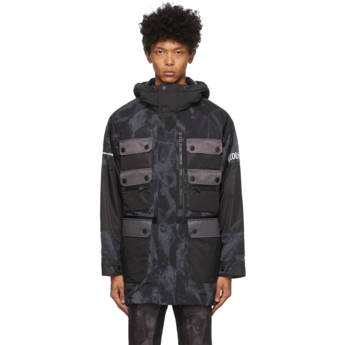 Colmar by White Mountaineering Colmar by White Mountaineering Grey and Black Dyed Pockets Jacket