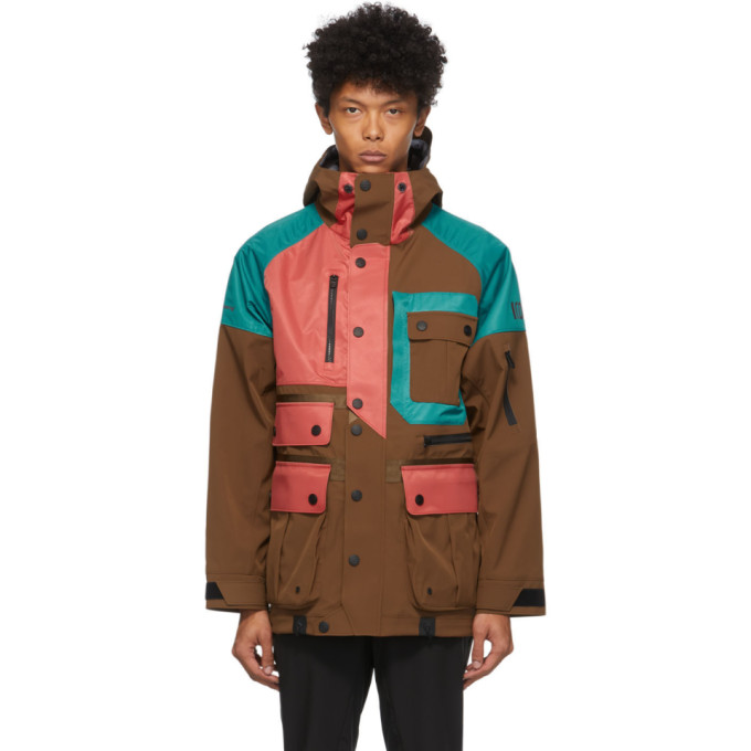 Colmar by White Mountaineering Colmar by White Mountaineering Multicolor Pockets Jacket