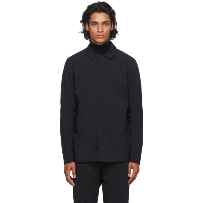 Veilance Clothing VEILANCE BLACK MIONN IS OVERSHIRT