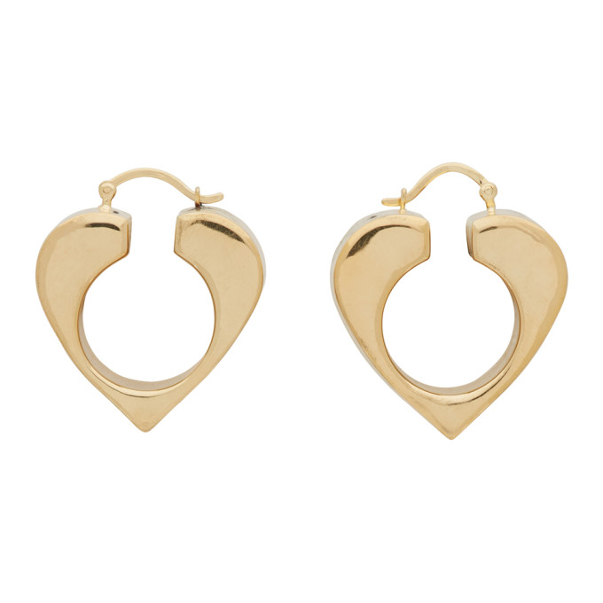 Uncommon Matters Gold Vermeil Vertex Earrings  - buy with discount