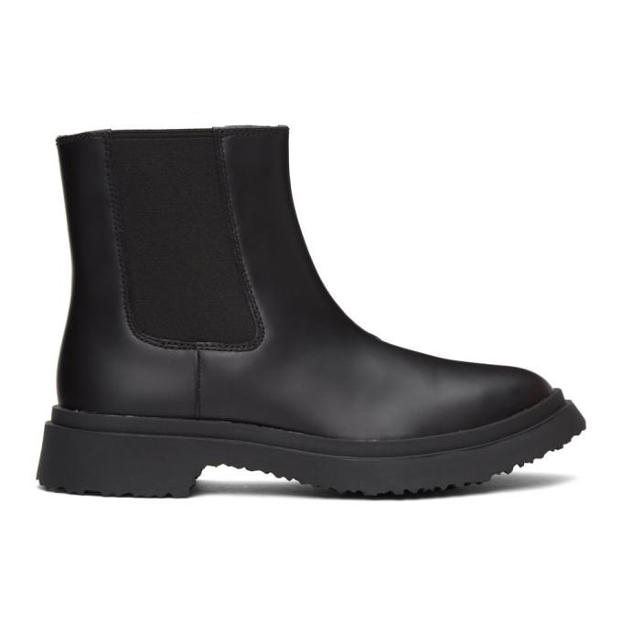CamperLab Black Walden Chelsea Boots