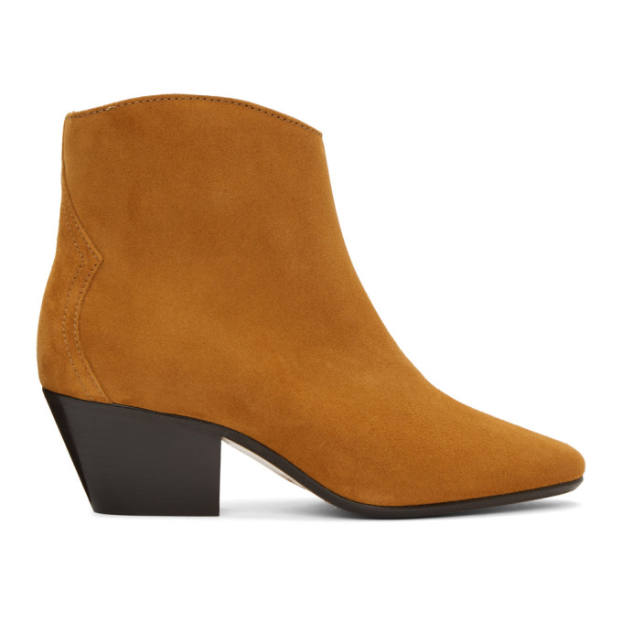 Isabel Marant Tan Dacken Ankle Boots