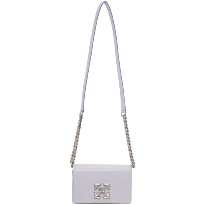 Off-White OFF-WHITE PURPLE WRINKLED JITNEY 0.5 BAG