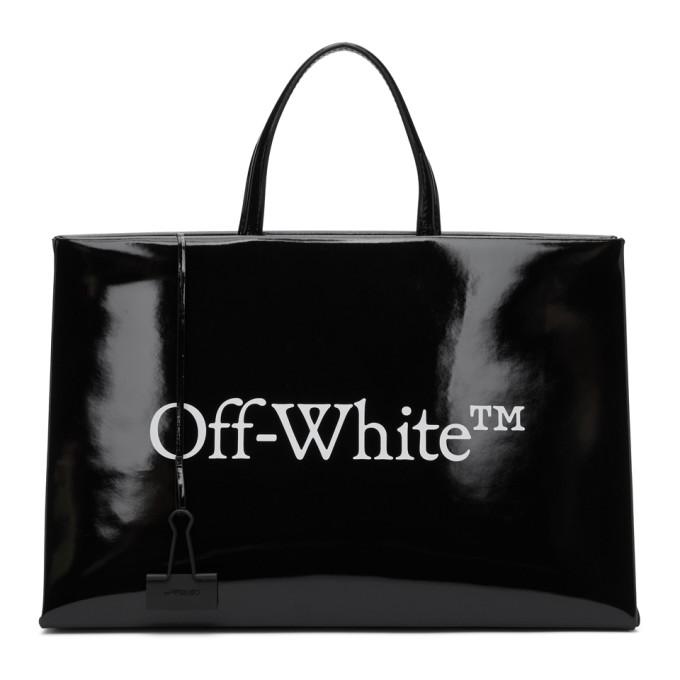 Off-White OFF-WHITE BLACK MEDIUM BOX BAG