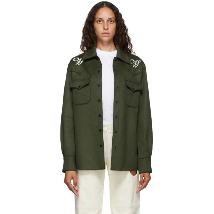 Off-White Off-White Green Boxy Jacket