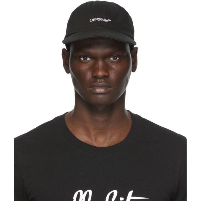 Off-White OFF-WHITE BLACK BOOKISH BASEBALL CAP