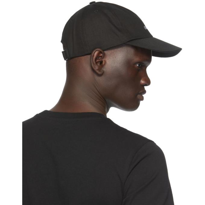 OFF-WHITE Caps OFF-WHITE BLACK BOOKISH BASEBALL CAP