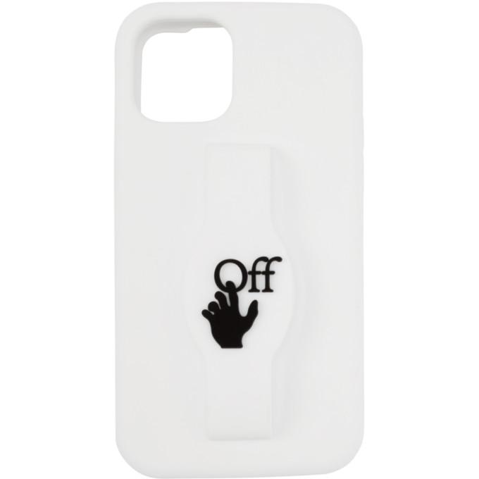 Off-White OFF-WHITE WHITE LOGO IPHONE 11 PRO CASE