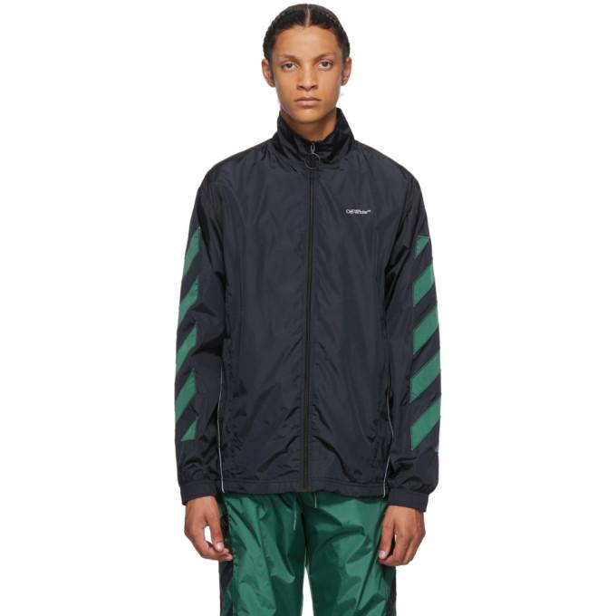 Off-White Off-White Black Nylon Diag Jacket