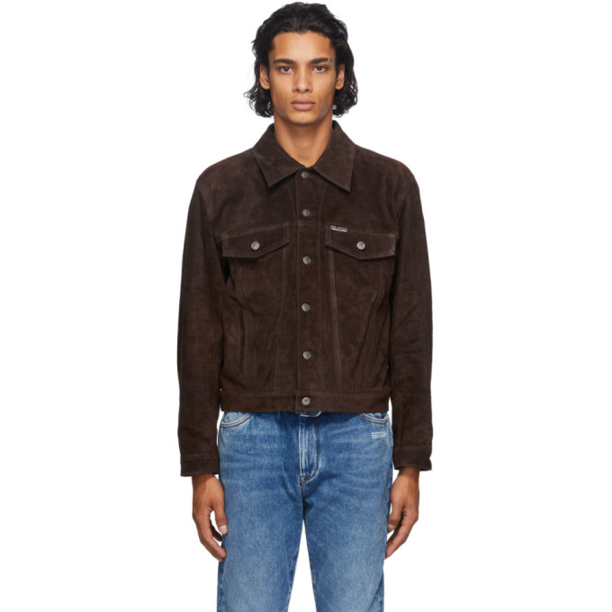 Off-White Off-White Brown Agreement Jacket