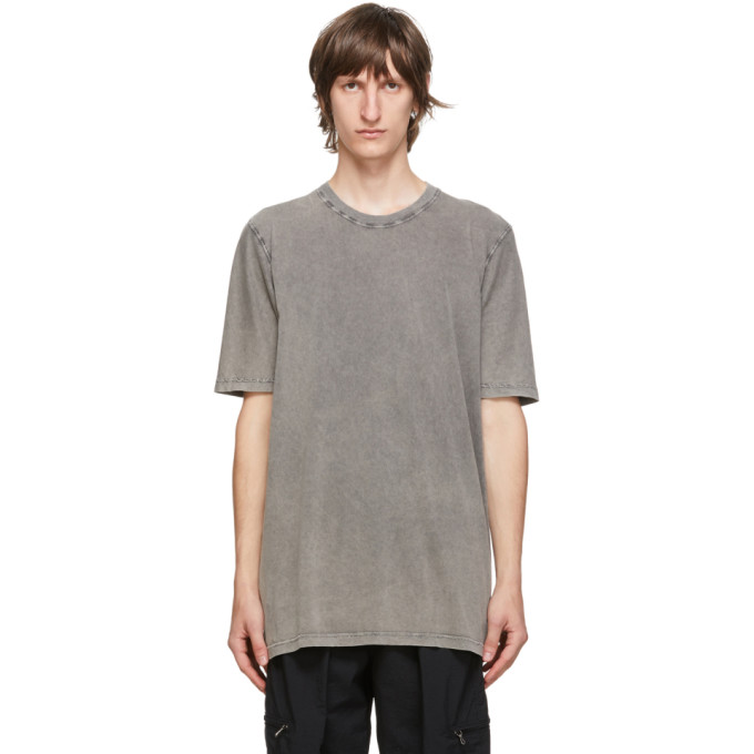 11 by Boris Bidjan Saberi Grey Acid Long Sleeve T Shirt 202610M21301307