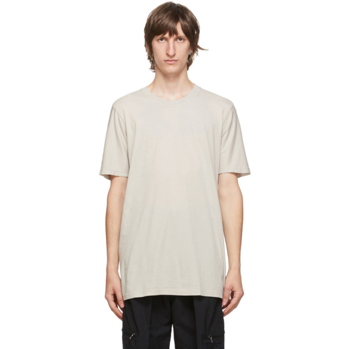 11 by Boris Bidjan Saberi Grey Dye T Shirt 202610M21301405