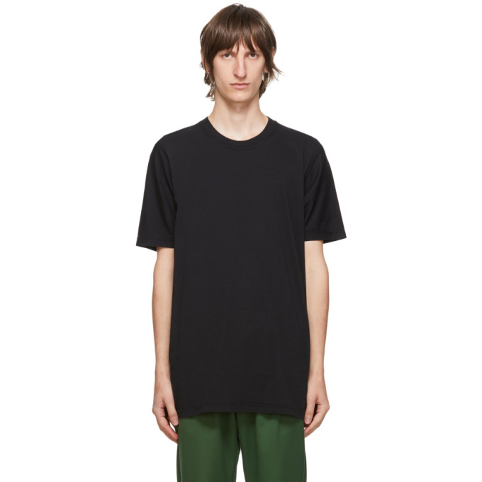 11 by Boris Bidjan Saberi Black Cotton Dye T Shirt 202610M21301507