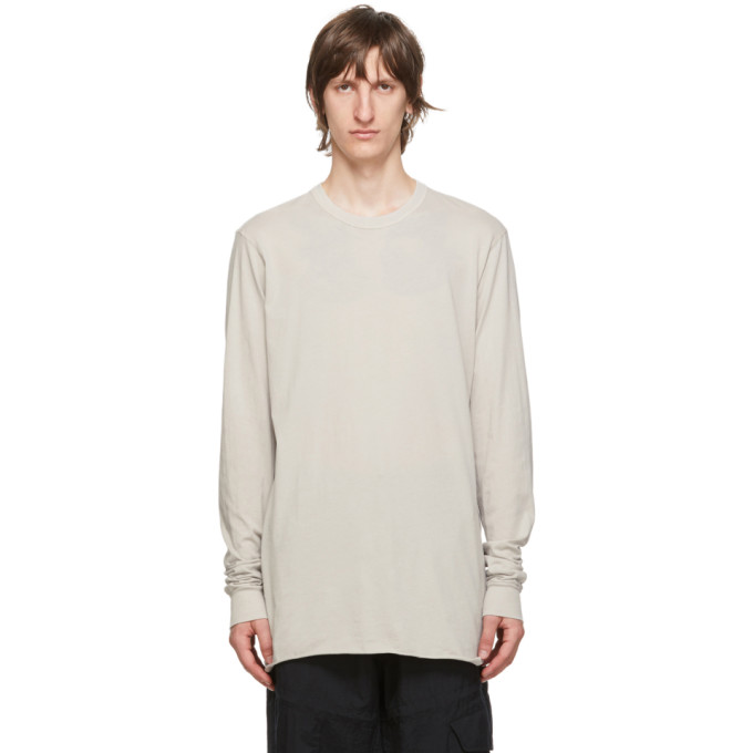 11 by Boris Bidjan Saberi Grey Dye T Shirt 202610M21302003