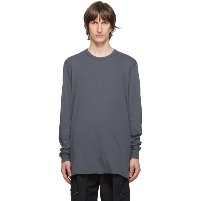 11 by Boris Bidjan Saberi Blue Cotton Dye T Shirt 202610M21302104