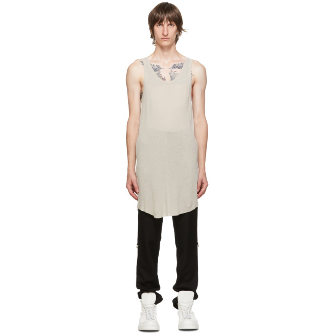 11 by Boris Bidjan Saberi Grey Dye Tank Top 202610M21402205
