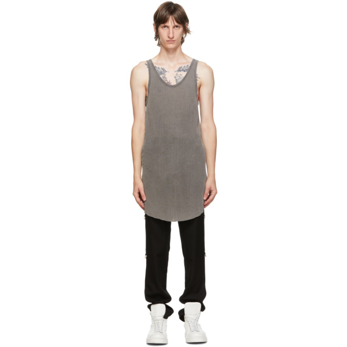 11 by Boris Bidjan Saberi Grey Acid Tank Top 202610M21402407