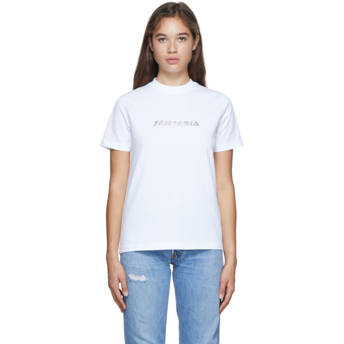 Eytys T-shirt blanc Smith Fantasia