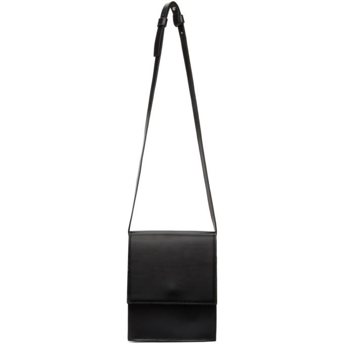 LEMAIRE LEMAIRE BLACK SMALL SATCHEL BAG