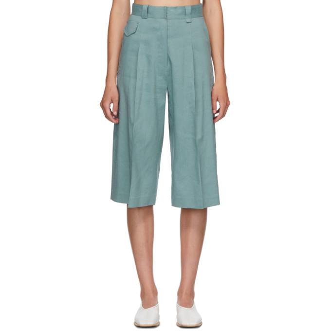 LOW CLASSIC Short bleu Bermuda