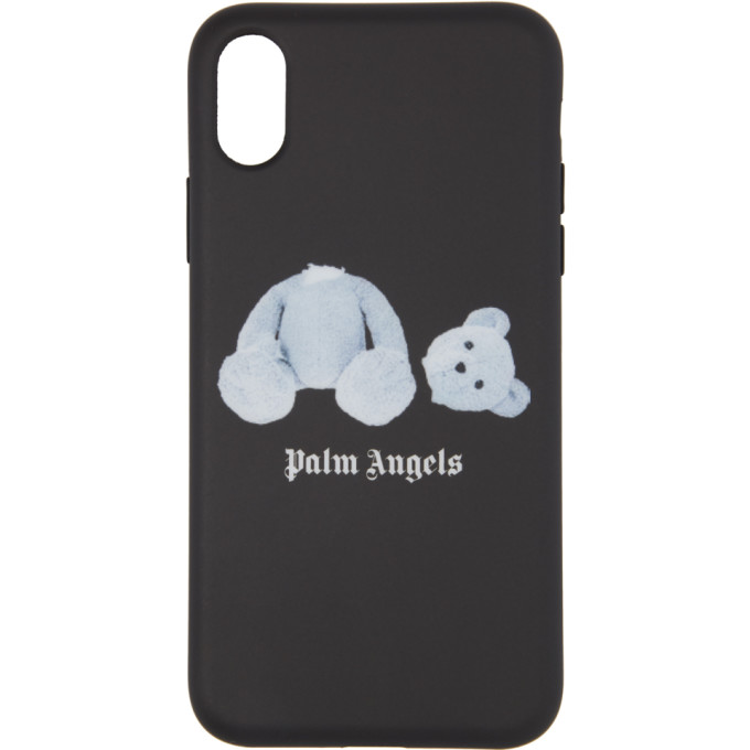 Palm Angels PALM ANGELS BLACK ICE BEAR IPHONE X CASE