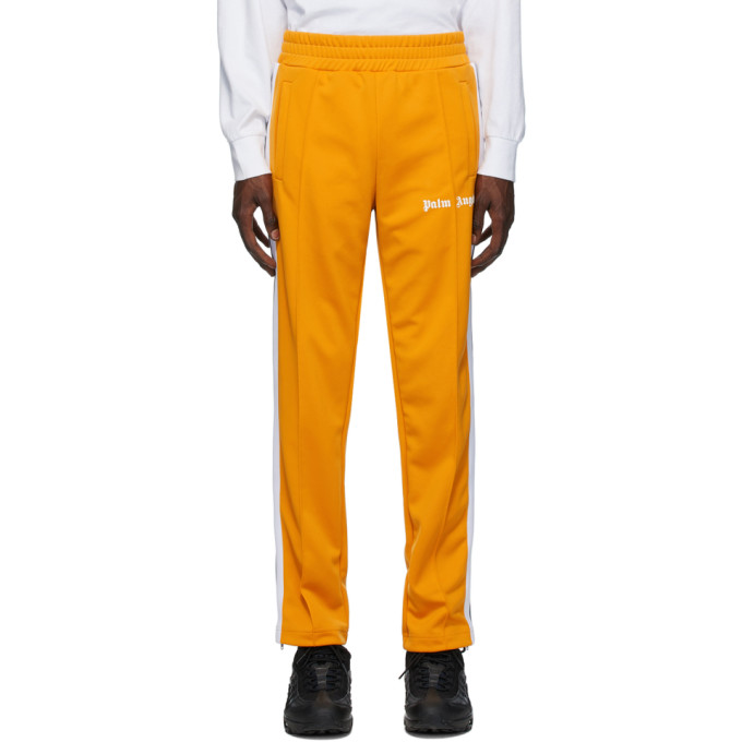 Palm Angels Yellow Classic Track Pants