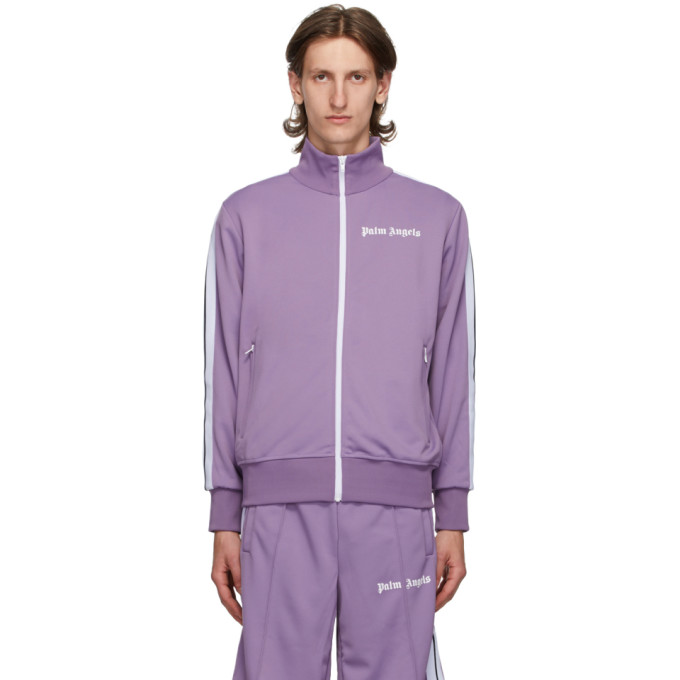 Palm Angels PALM ANGELS PURPLE CLASSIC TRACK JACKET