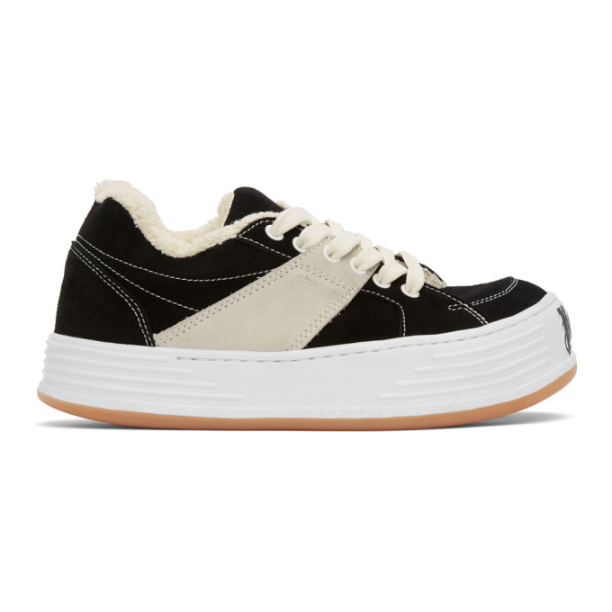 Palm Angels PALM ANGELS BLACK SNOW LOW-TOP SNEAKERS
