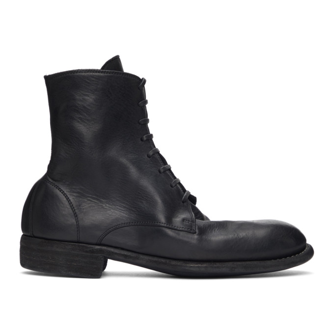 Guidi 黑色 995 踝靴