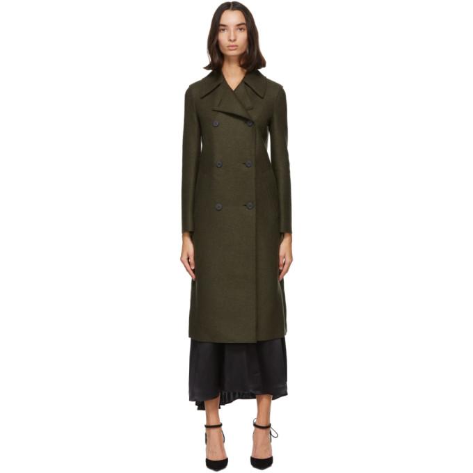 プレス ウール ミリタリー コート