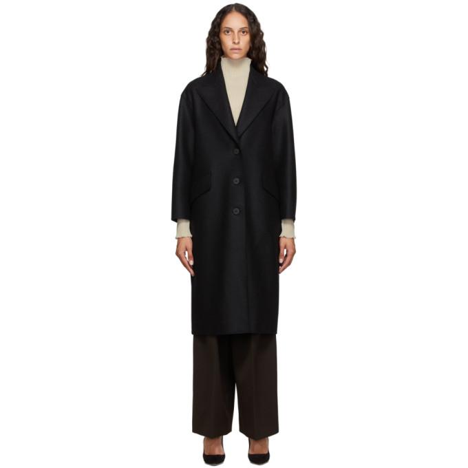 プレス ウール コート