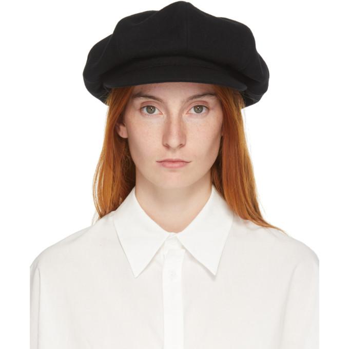 Y's YS BLACK BIG CAP