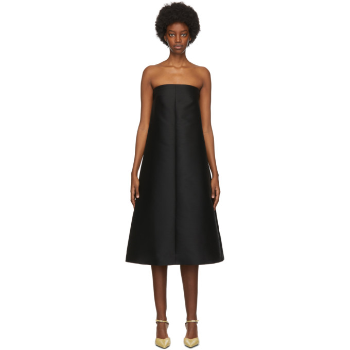 Totême TOTEME BLACK SABADELL DRESS