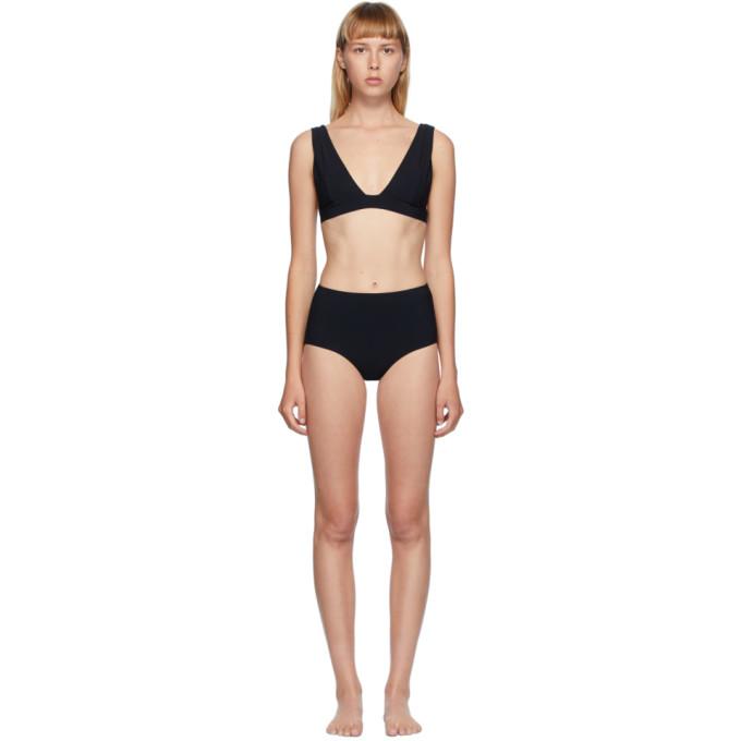 Toteme Bikini noir Soverina/Petrona