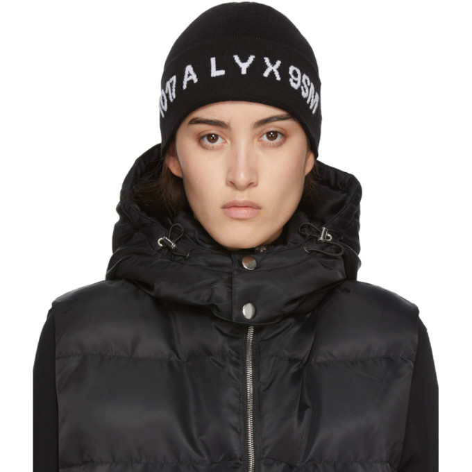 Alyx 1017 ALYX 9SM BLACK LOGO BEANIE