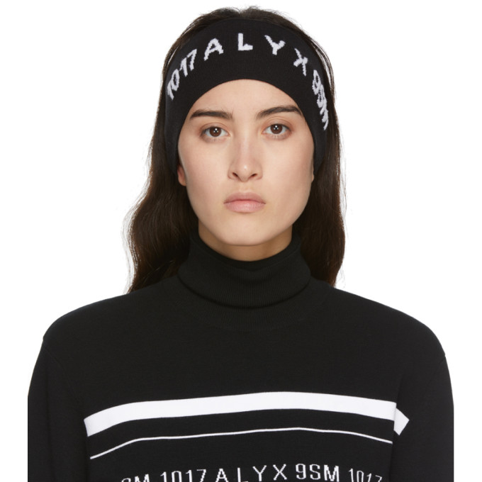 Alyx 1017 ALYX 9SM BLACK LOGO HEADBAND
