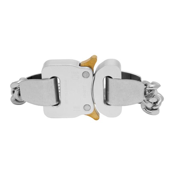 1017 ALYX 9SM Silver Buckle Bracelet 202776F02003601