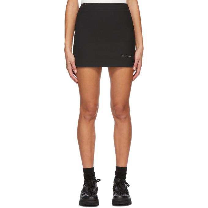 1017 ALYX 9SM Black Formal Tailoring Miniskirt 202776F05213201