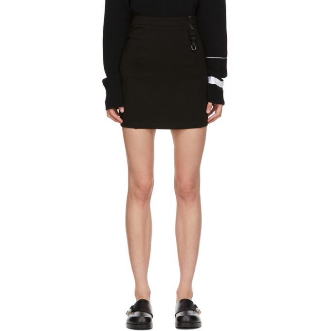 1017 ALYX 9SM Black Buckle Miniskirt 202776F05213502