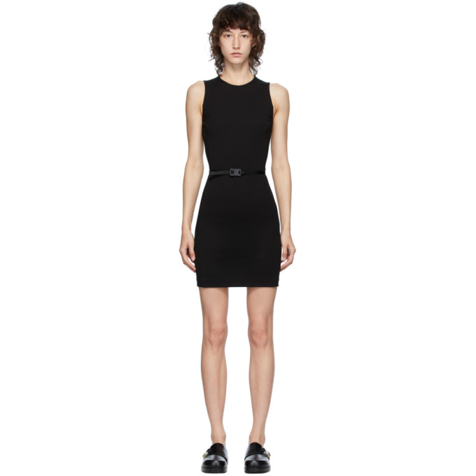 1017 ALYX 9SM Black Jersey Buckle Dress 202776F05213604