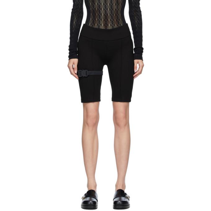 1017 ALYX 9SM Black Cycling Shorts 202776F08821503