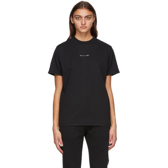 1017 ALYX 9SM Black Visual Logo T Shirt 202776F11011806